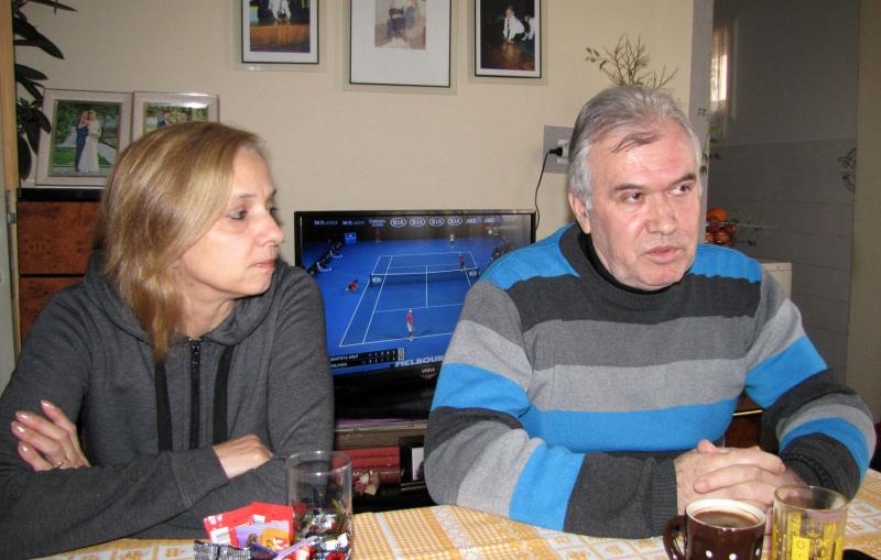 Sunčica i Ljubomir Trojanović. Foto: S.Tasić/OK Radio