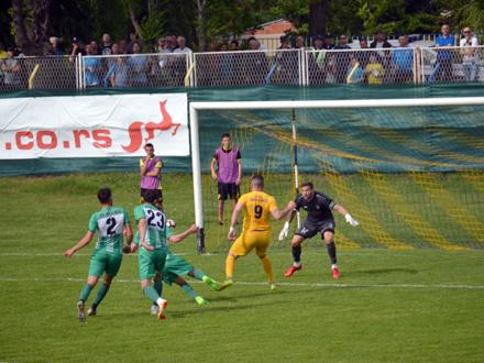 Tri gola Inđije u prvom meču, ipak, nedostižna za Dinamo FOTO: G. Mitić/OK Radio