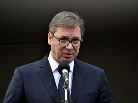 Vučić: Mi smi njih obavestili FOTO: G.Mitić/OK Radio