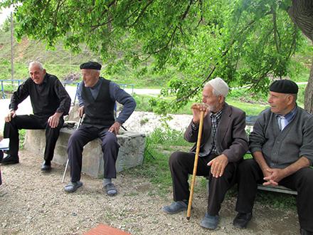 Albanci sa juga Srbije. Foto: S.Tasić/OK Radio