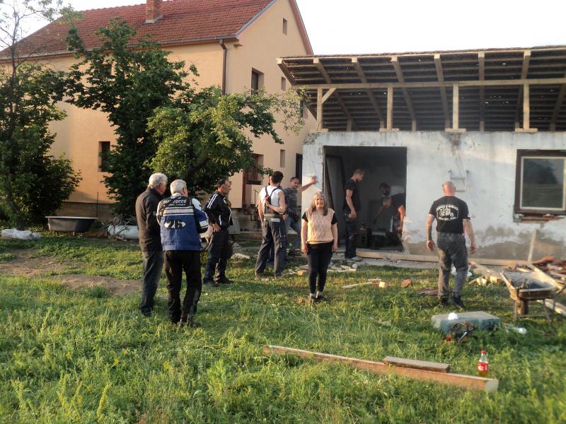 Ružica dobija krov nad glavom. Foto: S.Tasić/OK Radio