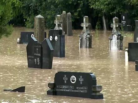 U Kraljevu poplavljeno više od 400 kuća i objekata FOTO:Al Jazeera/printscreen