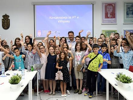 Poseta Kancelariji za IT i eUpravu FOTO: ite.gov.rs