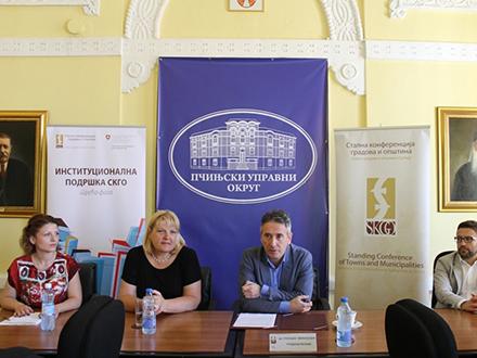 Sa sastanka u Vranju. Foto: vranje.org.rs