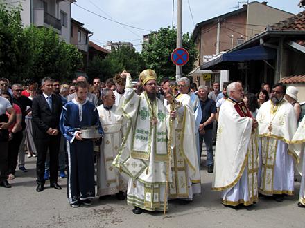 Tradicionalne litije ulicama Vranja FOTO: D. Ristić/OK Radio
