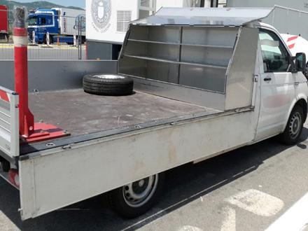 Kamionet u kojem je pronađena droga FOTO: MUP