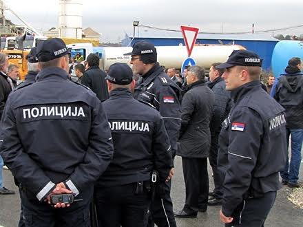 Pripadnici Policijsk euprave Vranje. Foto: OK Radio