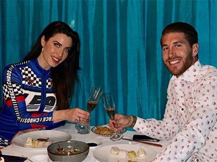 Serhio Ramos oženio dugogodišnju partnerku Pilar Rubio FOTO: Instagram