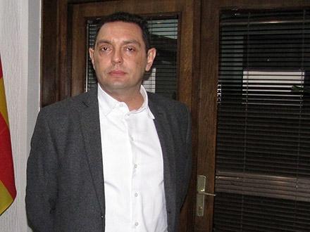Aleksandar Vulin prilikom posete Vranju. Foto: S.Tasić/OK Radio