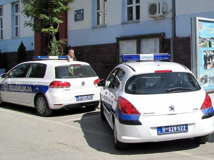 Mnogo posla za policiju FOTO: D. Ristić/OK Radio