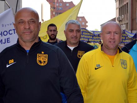 Recko i Đani, do juče saradnici, od sutra protivnici FOTO: G. Mitić/OK Radio