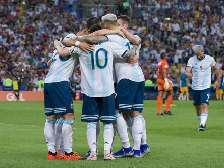 Slavlje Argentine na Marakani FOTO: Getty Images