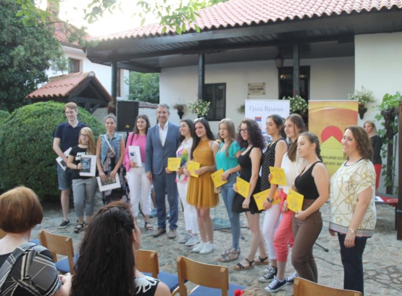 Sa dodele nagrada. Foto: vranje.org.rs