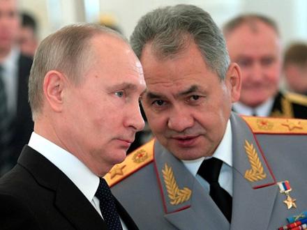 Šojgu obavestio i Putina FOTO: AP