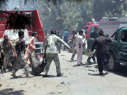 Četrdesetoro povređenih prevezeno u bolnicu FOTO: AP