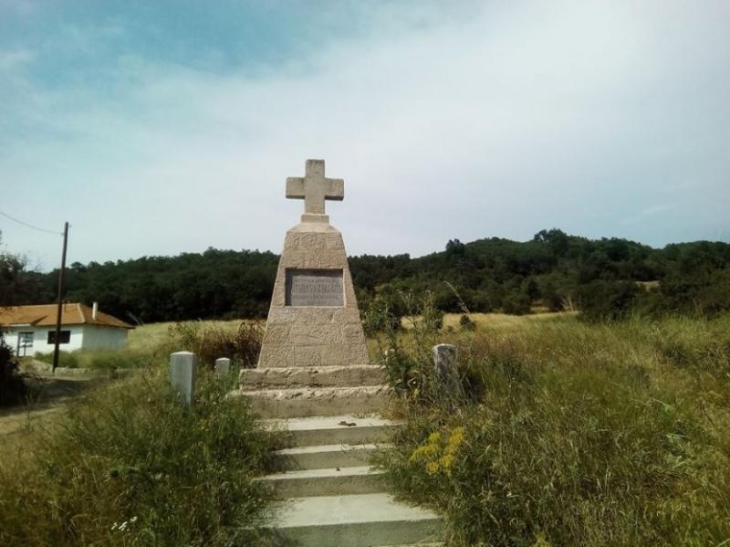 Spomenik belogardejcima u Korbevcu. Foto: S.Tasić/OK Radio