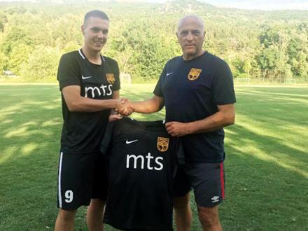 Babović sa novim šefom FOTO: T. Kitanović