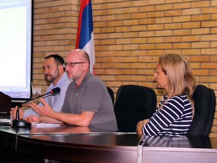LAP nije represivni dokument: Antić, Nenadić, Martinović FOTO: vranje.org.rs