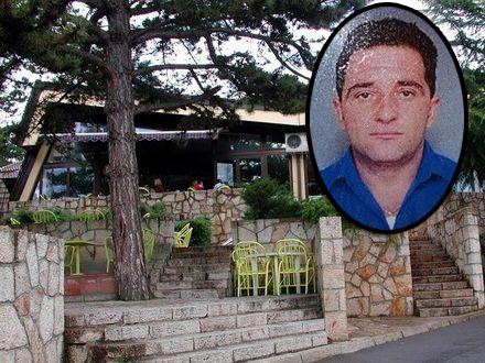 Mesto gde je ubijen Voja Spasić FOTO: OK Radio