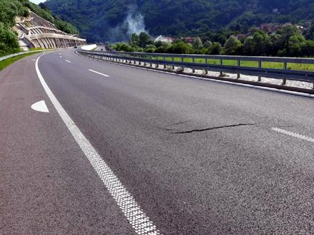 Autoput je još u garantnom periodu FOTO: Koridori Srbije