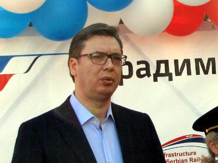 Vučić: Niko neće biti razočaran FOTO: D. Ristić/OK Radio
