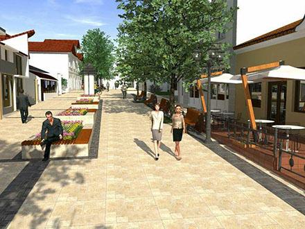 Projektovano novo šetalište. Foto: vranje.org.rs
