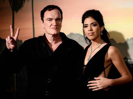 Kventin Tarantino i Danijela Pik FOTO: AFP