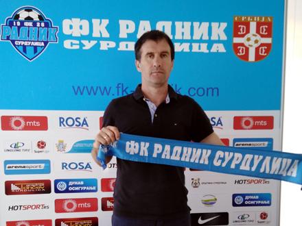 Nenad Vanić, novi šef struke FOTO: FK Radnik
