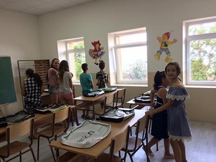 Renovirana škola. Foto: vranje.org.rs
