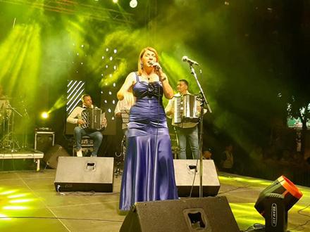 Biljana Jevtić na centralnoj bini FOTO: TO Vranje