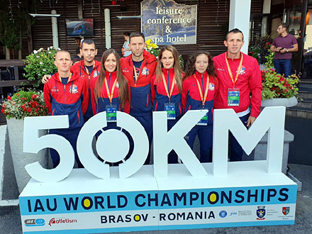 Sjajan nastup na teškoj stazi i po vrućini FOTO: FK Vranjski maratonci