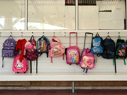 Vodite računa o težini školskih ranaca FOTO: Getty Images
