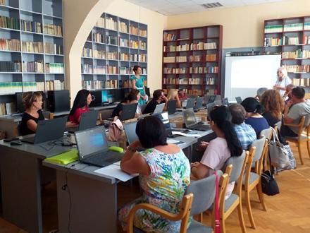 Obuku drže stručnjaci UNDP FOTO: vranje.org.rs