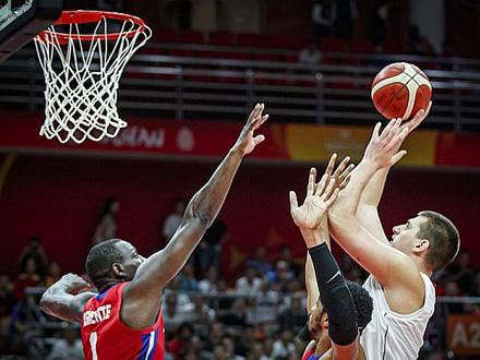 Dominacija od početka meča FOTO: FIBA