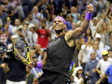 Nadal pobedio Italijana Matea Beretinija FOTO: AP