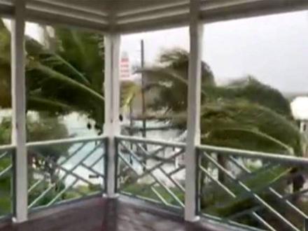 Uragan je oslabio na oluju kategorije jedan FOTO: Printscreen