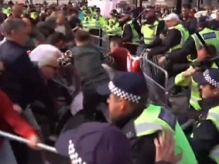 Nerede izazvale pristalica Bregzita - navijači i desničari FOTO: Printscreen