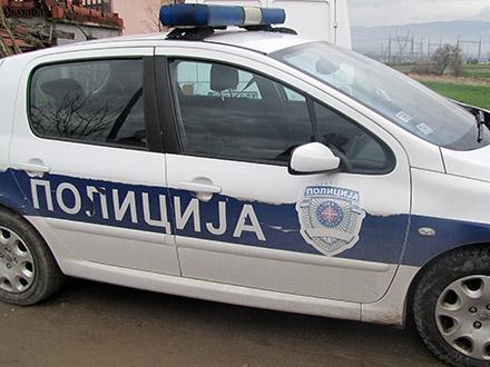 Vozaču određeno policijsko zadržavanje. Foto: S.Tasić/OK Radio