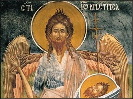 Car Irod iz Galileje naredio da se odseče glava Svetom Jovanu. Foto: SPC