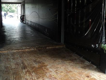 Mesto gde je ubijen Cvetanović FOTO: S. Tasić/OK Radio