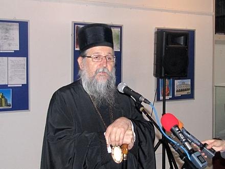 Episkop vranjski Pahomije FOTO: D. Ristić/OK Radio