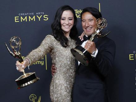 Nagrada Emi za najbolje televizijske emisije FOTO: EPA-EFE
