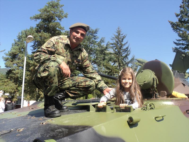 Četvrta brigada otvorila svoja vrata. Foto: S.Tasić/OK Radio