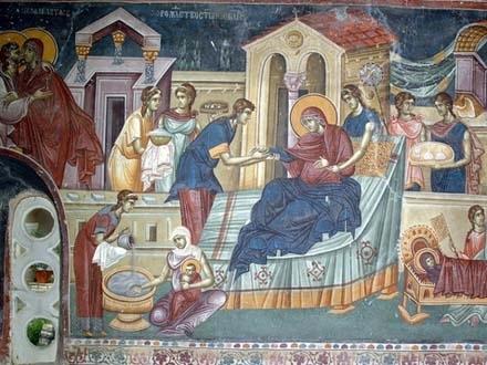 Rođenje Presvete Bogorodice. Foto: SPC