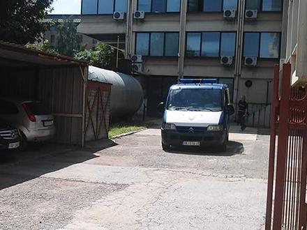 Osumnjičenom određeno zadržavanje do 48  sati. Foto: S.Tasić/OK Radio