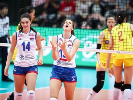 Srbija na devetoj poziciji FOTO: FIVB