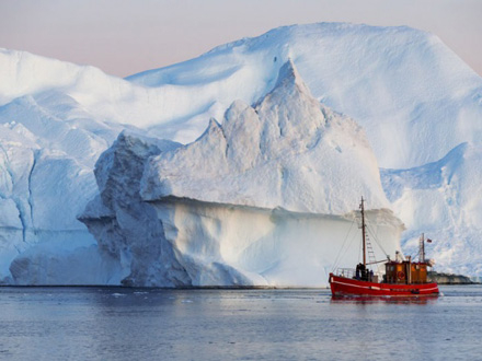 Ameri je treća najveća ledena ploča na Antarktiku FOTO: Depositphotos