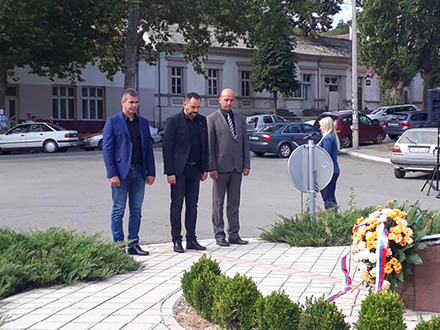 Počast stradalim sugrađanima FOTO: vranje.org.rs