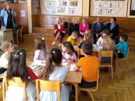 Mališani izneli svoje želje i zahteve FOTO: vranje.org.rs