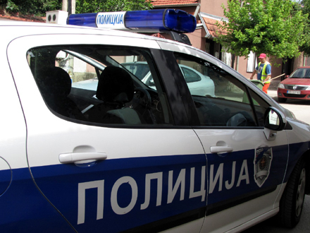 Probio policijsku blokadu kod Levosoja FOTO: D. Ristić/OK Radio